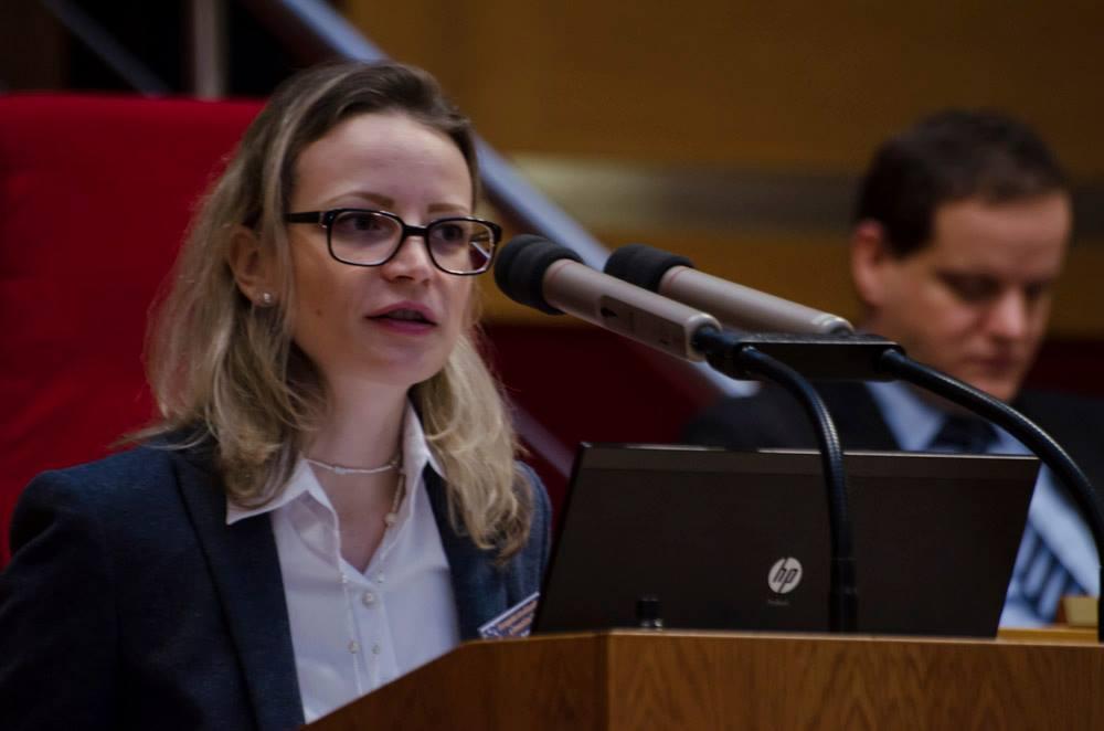 Mgr. Kateřina Neveselá, ředitelka Odboru řízení a koordinace fondů EU Ministerstva pro místní rozvoj ČR