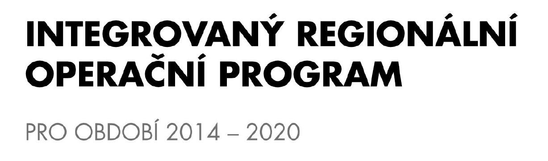 Integrovaný regionální operační program 2014-2020
