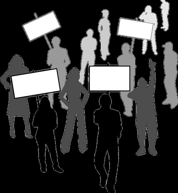 demokracie - manifestace